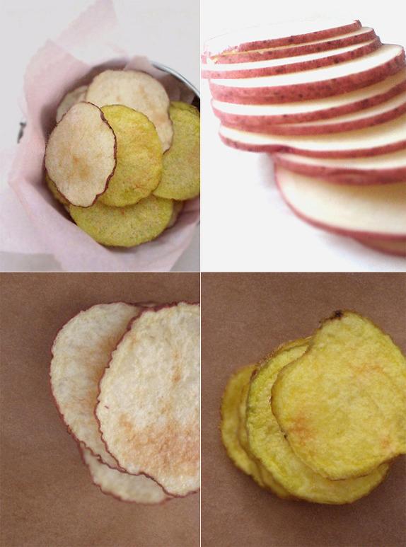 전자렌지 감자칩