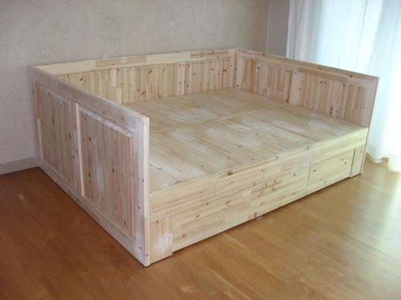 삼나무침대,평상형침대,삼나무소파형침대,삼나무가구,삼나무tv ...
