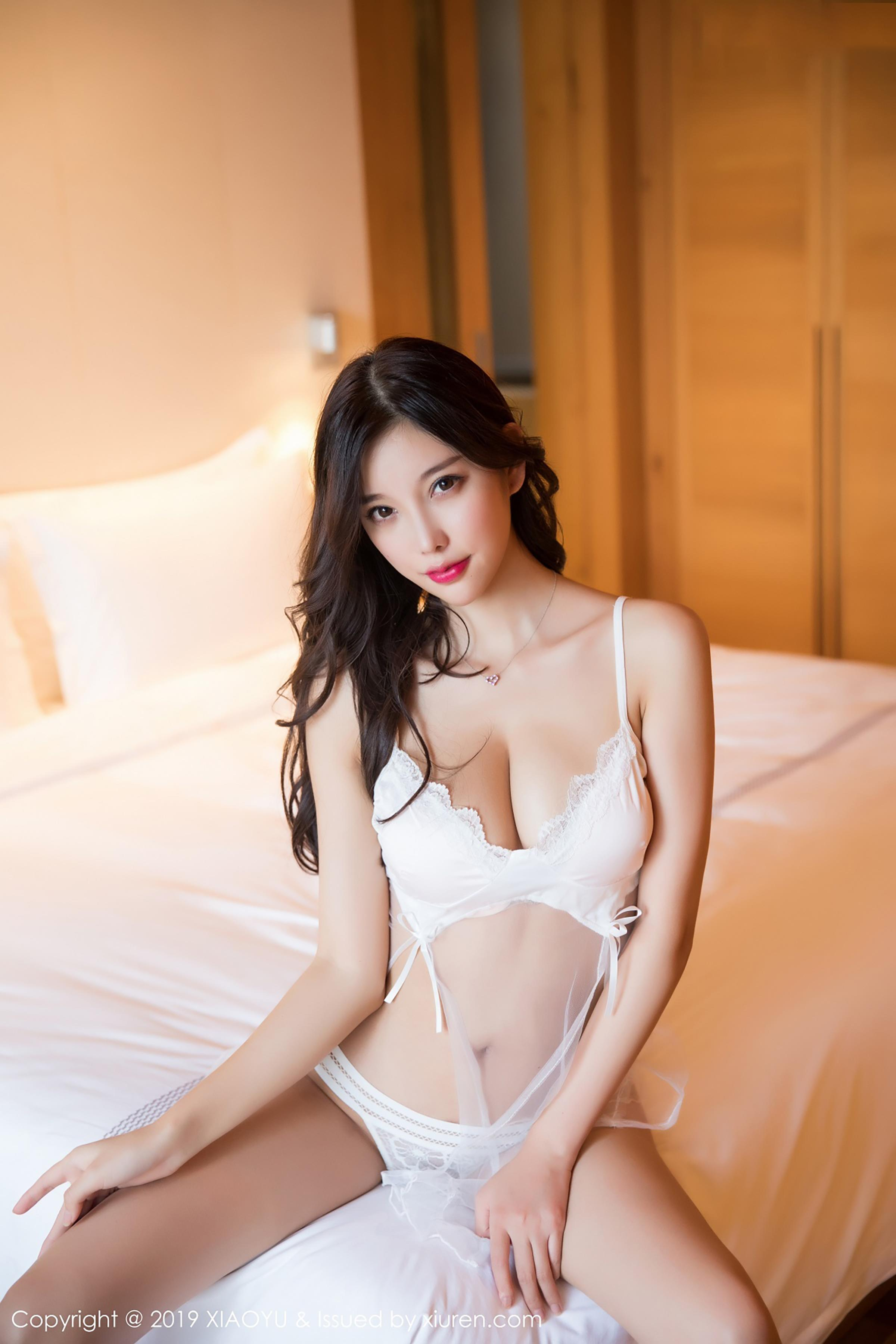 cool Chinese girl in sexy wear