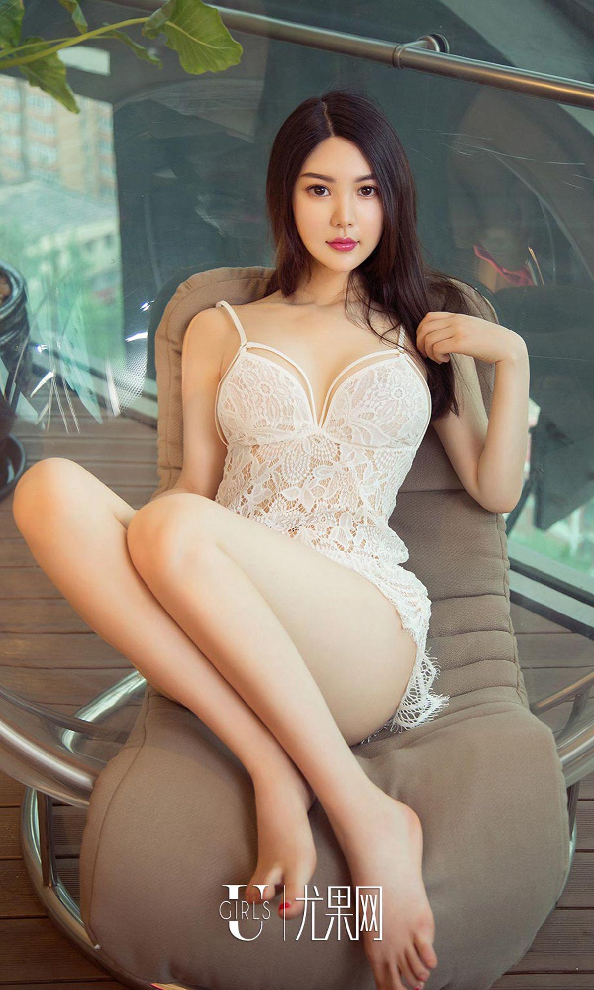 hot Chinese beautiful girl wearing lingerie