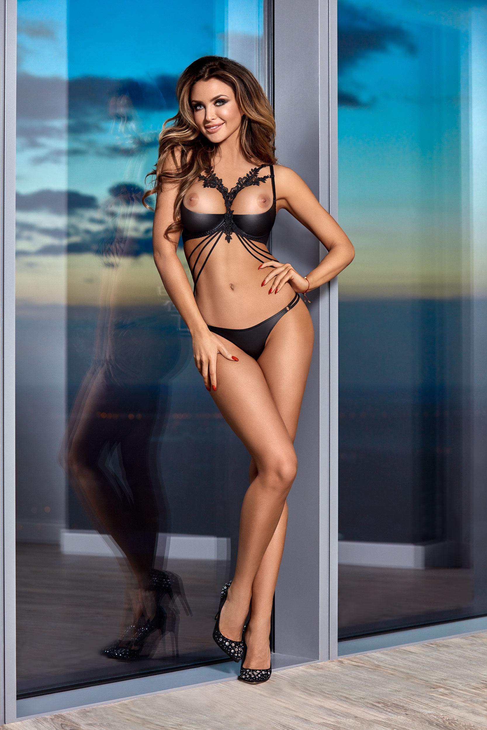 hot lingerie model - Monika